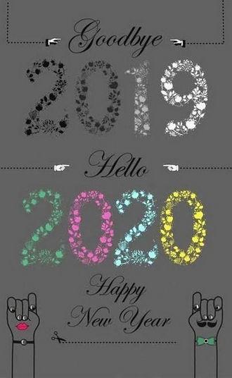 hinh nen tam biet nam 2019 chao don nam 2020