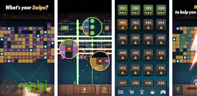 game pha gach hay nhat cho iphone