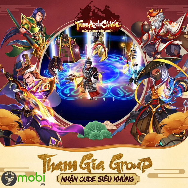 giftcode game tam anh chien