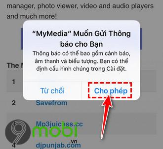huong dan tai video youtube tren iphone bang mymedia