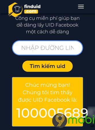 Get UID Page Facebook