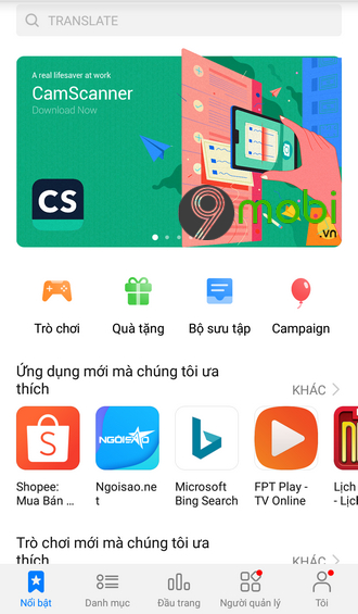 appgallery cho android
