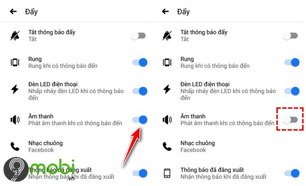 tat thong bao tren iphone