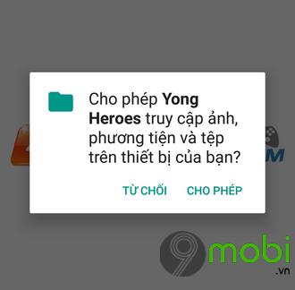 tai yong heroes cho android