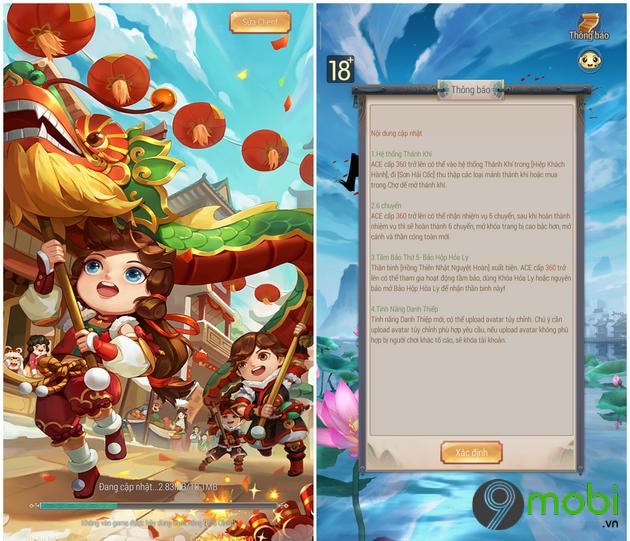 tai yong heroes cho iphone