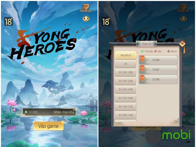 game kiem hiep yong heroes