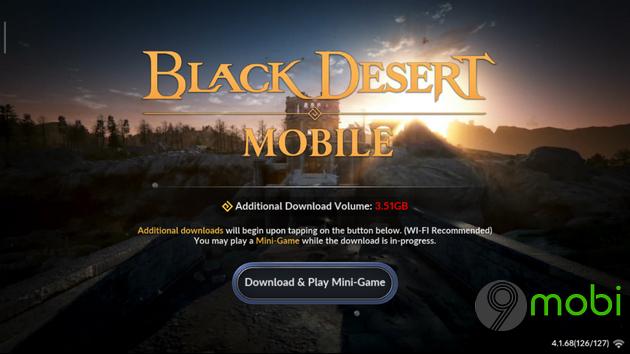 game nhap vai the gioi mo black desert mobile