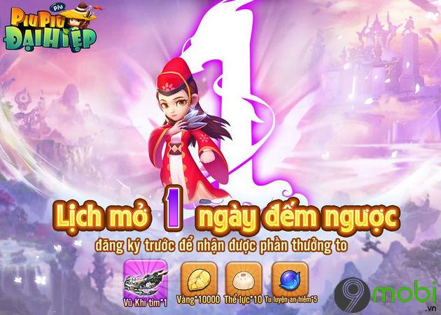 giftcode game dai hiep piu piu piu