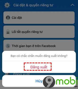 dang nhap nhieu tai khoan facebook cung luc tren iphone