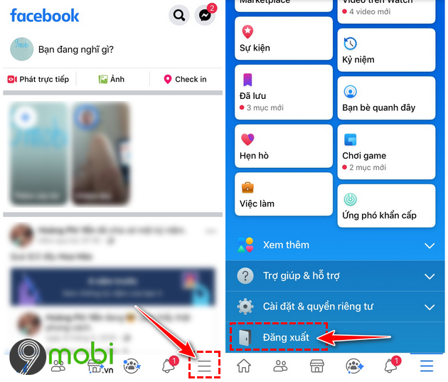 download facebook cho iphone