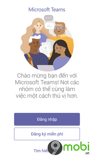 cach tai microsoft teams tren iphone