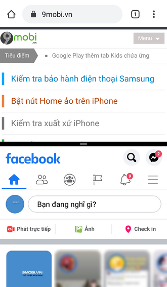 cach chay 2 ung dung song song tren android
