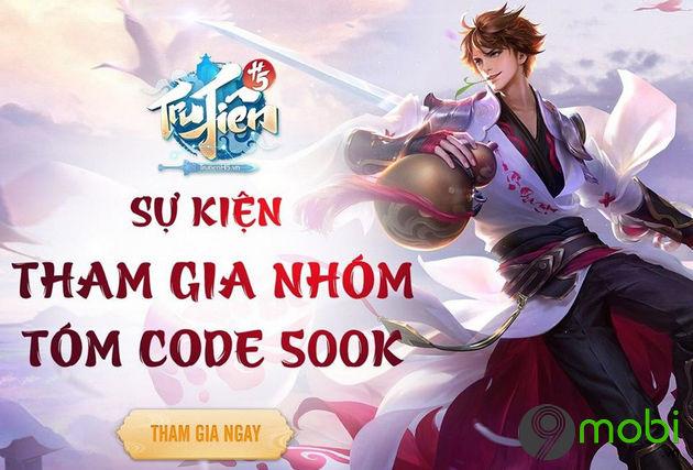 cach nhap code game tru tien h5