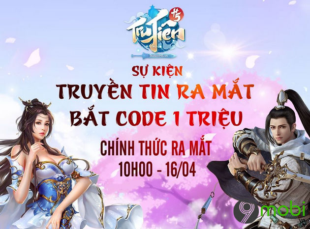 cach nhap giftcode game tru tien h5