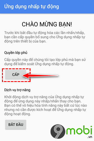 cach dung auto click choi game tren android
