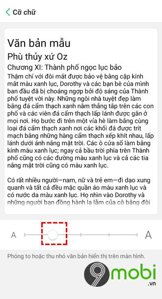 tang kich thuoc chu dien thoai android