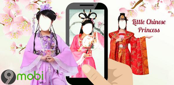 ung dung chup anh co trang kiem hiep Chinese Princess Kids Montage