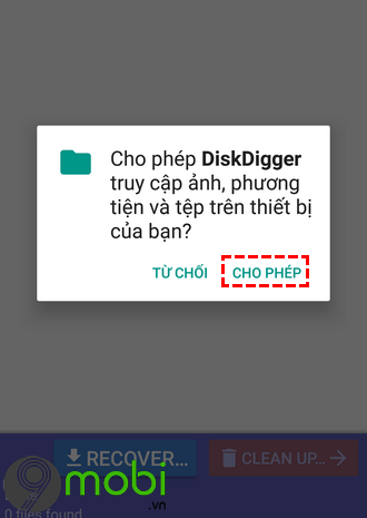 tim lai anh da xoa tren android voi diskdigger photo recovery