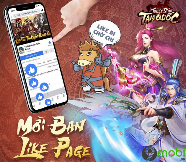 cach nhan code game tuyet dinh tam quoc