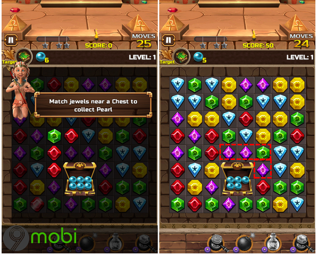 cach choi game jewel ancient 2