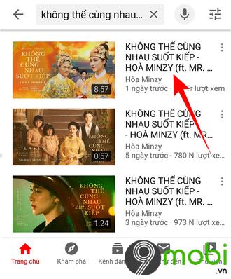 cach tai mp3 bai hat khong the cung nhau suot kiep tren android