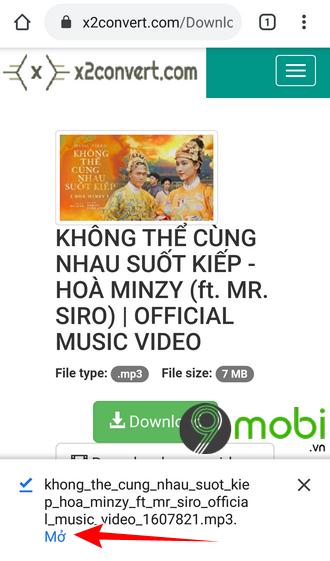 cach download mp3 bai hat khong the cung nhau suot kiep hoa minzy