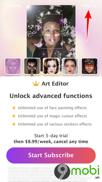 art editor ung dung chinh sua anh tren iphone