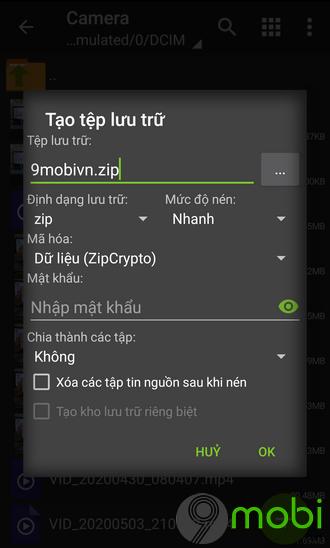Cách sử dụng ZArchiver, nén và giải nén file RAR, ZIP trên Android