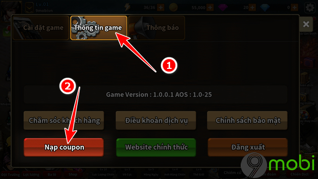 cach nhap giftcode game 3q phan cong