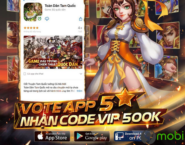 giftcode game toan dan tam quoc