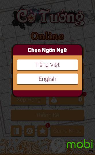cach choi co tuong tren dien thoai iphone
