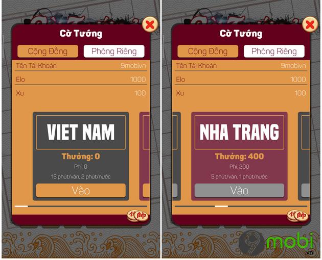 cach choi co tuong offline tren dien thoai iphone