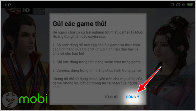 cach tai ty muoi hoang cung tren android