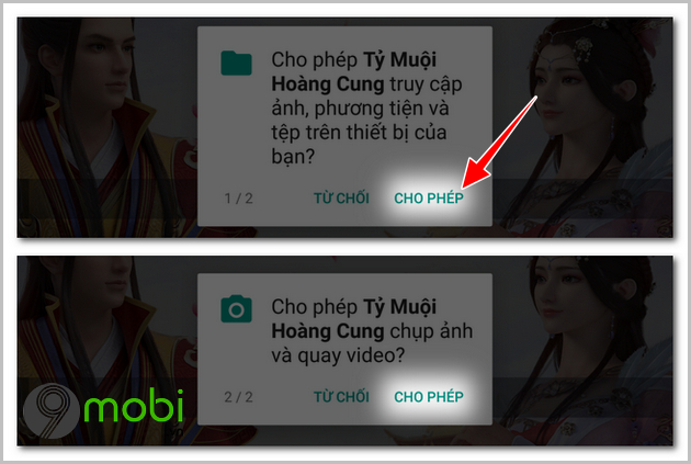 cach tai ty muoi hoang cung tren iphone