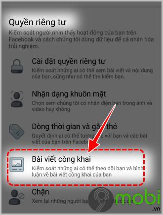 cach chan nguoi dung binh luan bai dang facebook