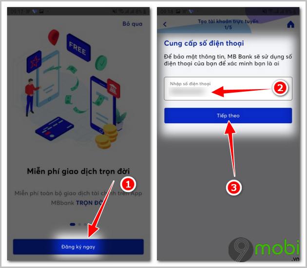 Cách tạo tài khoản số đẹp ngân hàng MB Bank miễn phí