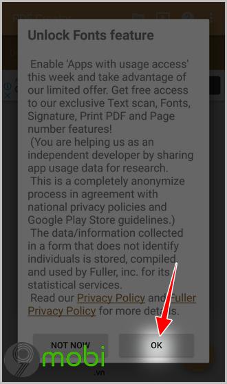 chuyen website sang file pdf tren dien thoai android