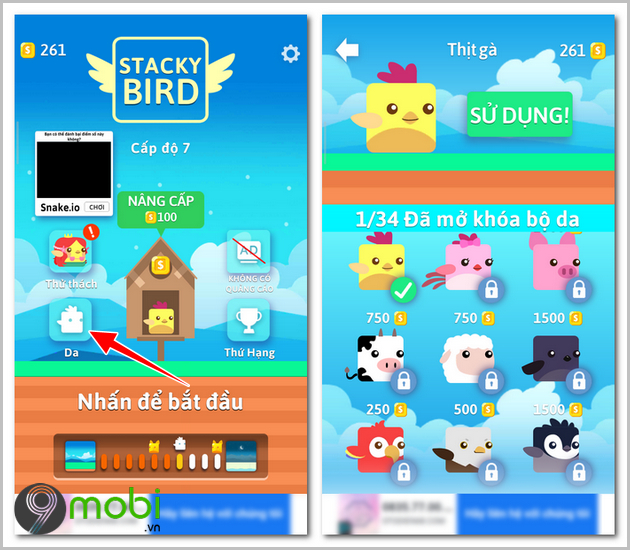 cach choi game stacky bird 7