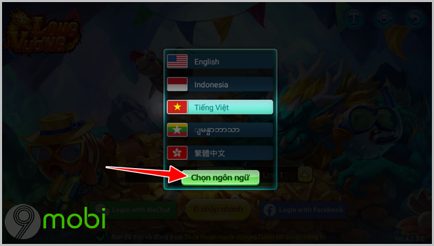 cach tai va choi game ban ca long vuong online cho android
