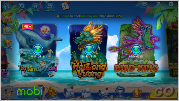cach tai va choi game ban ca long vuong online 9
