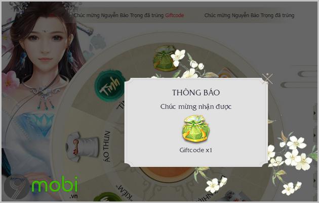cach nhap code game kiem hiep tinh 3d