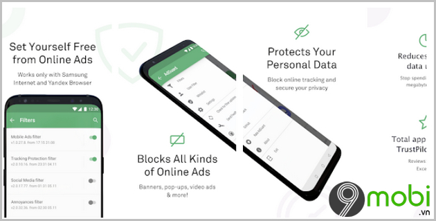 adguard ung dung chan quang cao cho android