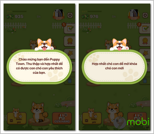game nuoi thu cung puppy town