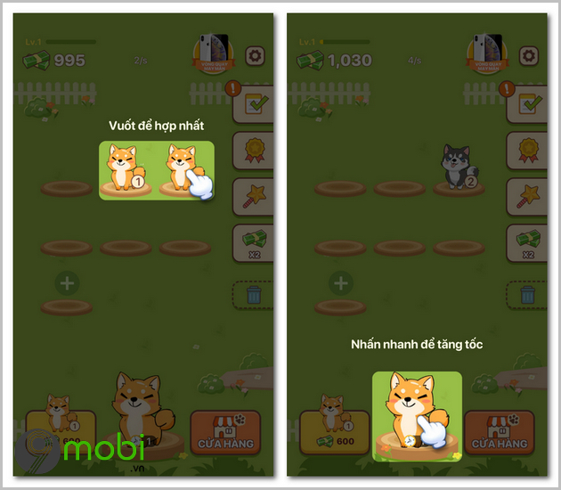 cach cai dat va choi game puppy town cho android