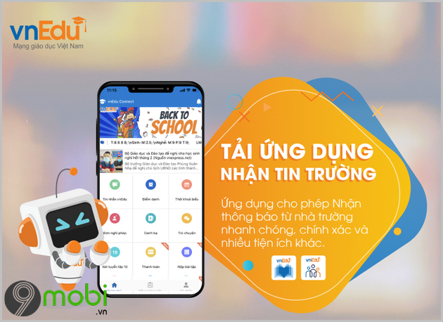 ung dung vnedu connect