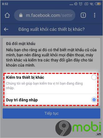 link mo khoa facebook khi quen password 6