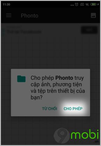 cach ghep them chu vao anh co san tren dien thoai android