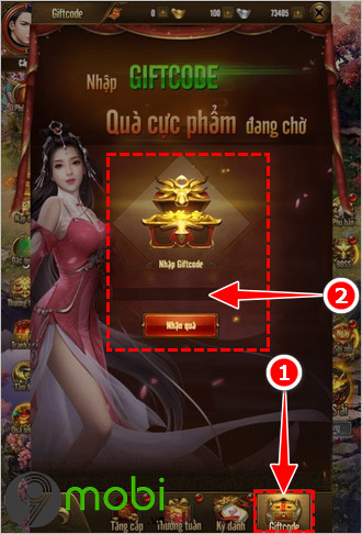 cach nhap code game van ly chinh do