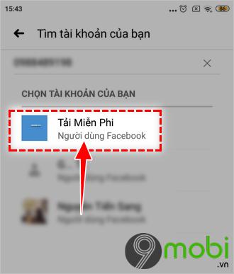 cach doi mat khau facebook bang dia chi email