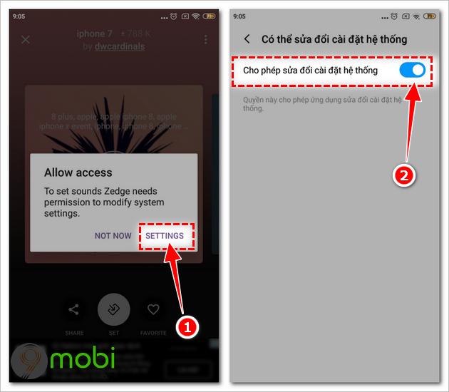 cai nhac chuong iphone cho android